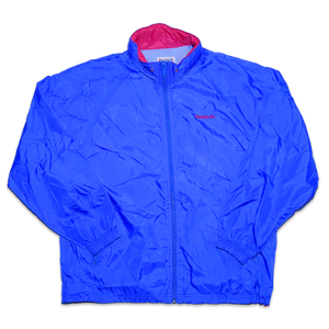 Vintage Reebok Windbreaker Medium - Double Double Vintage