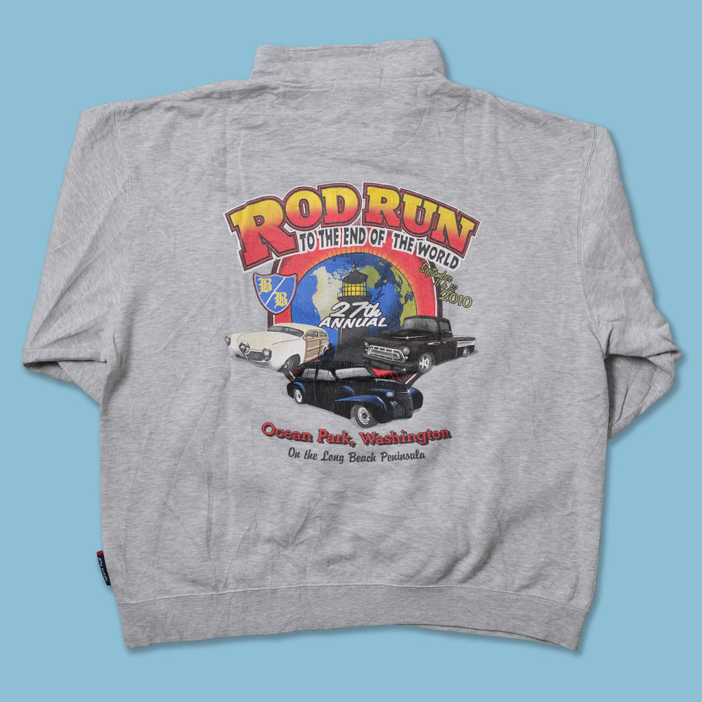 Vintage Rod Run Sweater Large