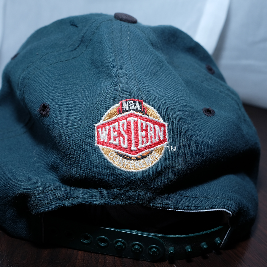 Vintage Basketball Seattle Supersonics Cap  / NBA Western Conference