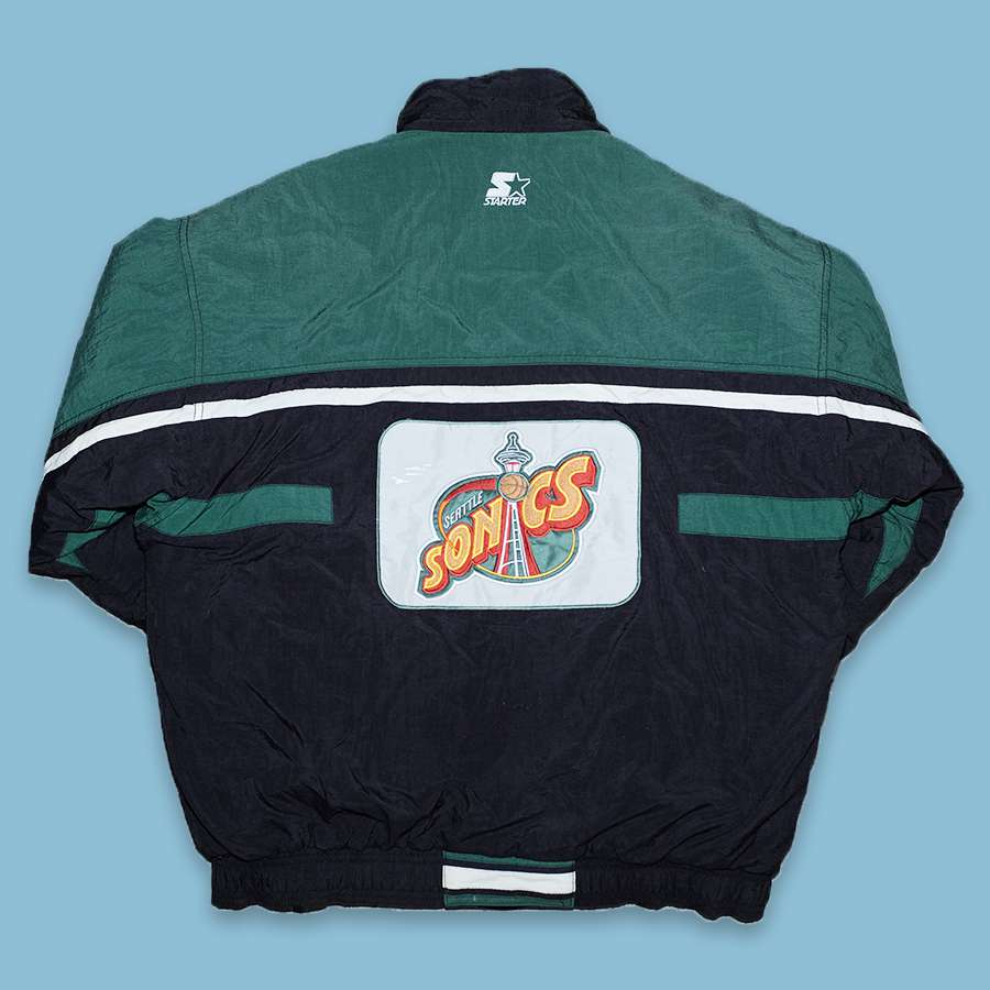 Vintage Starter Seattle Supersonics Jacket Large