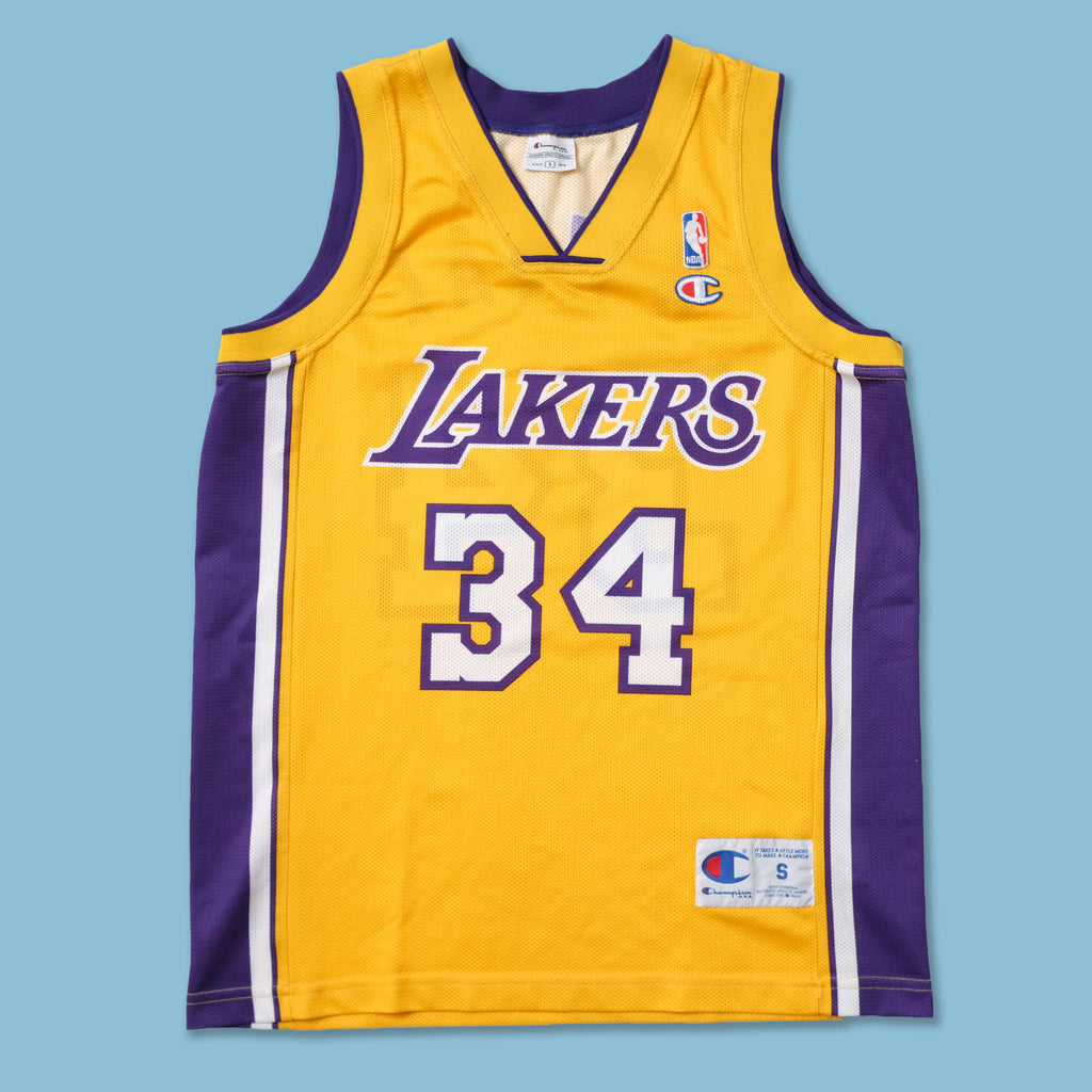 Vintage Champion Los Angeles Lakers Shaq Jersey Small
