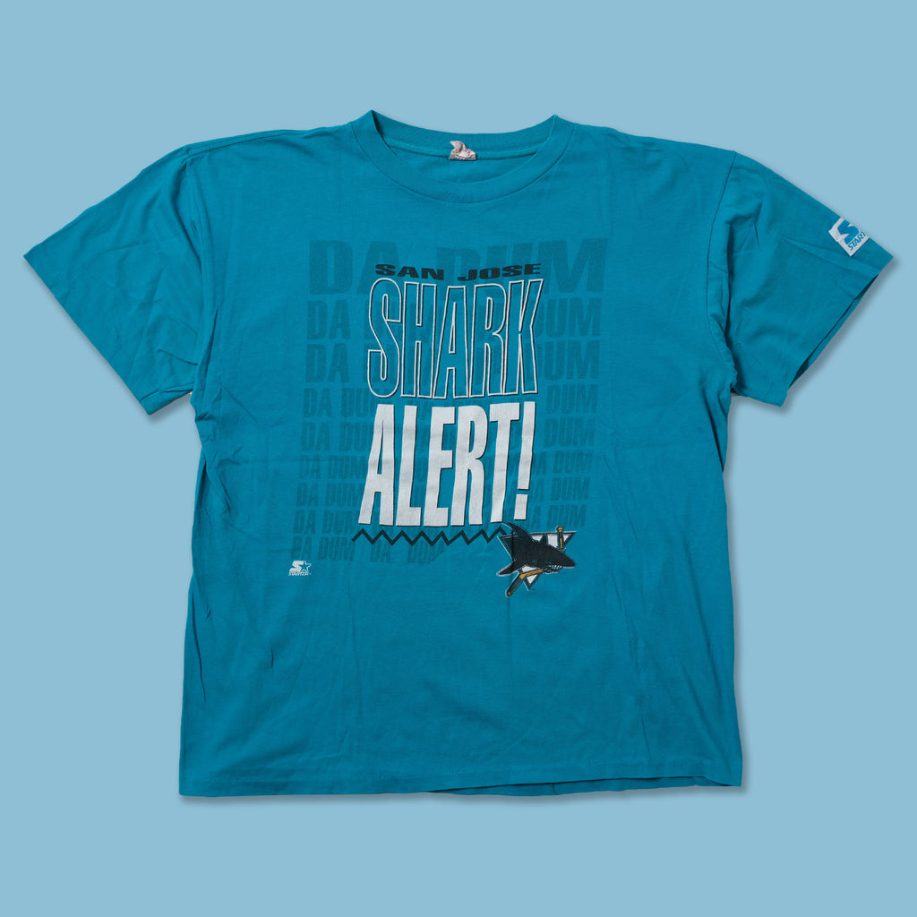 Vintage Starter San Jose Sharks T-Shirt Large