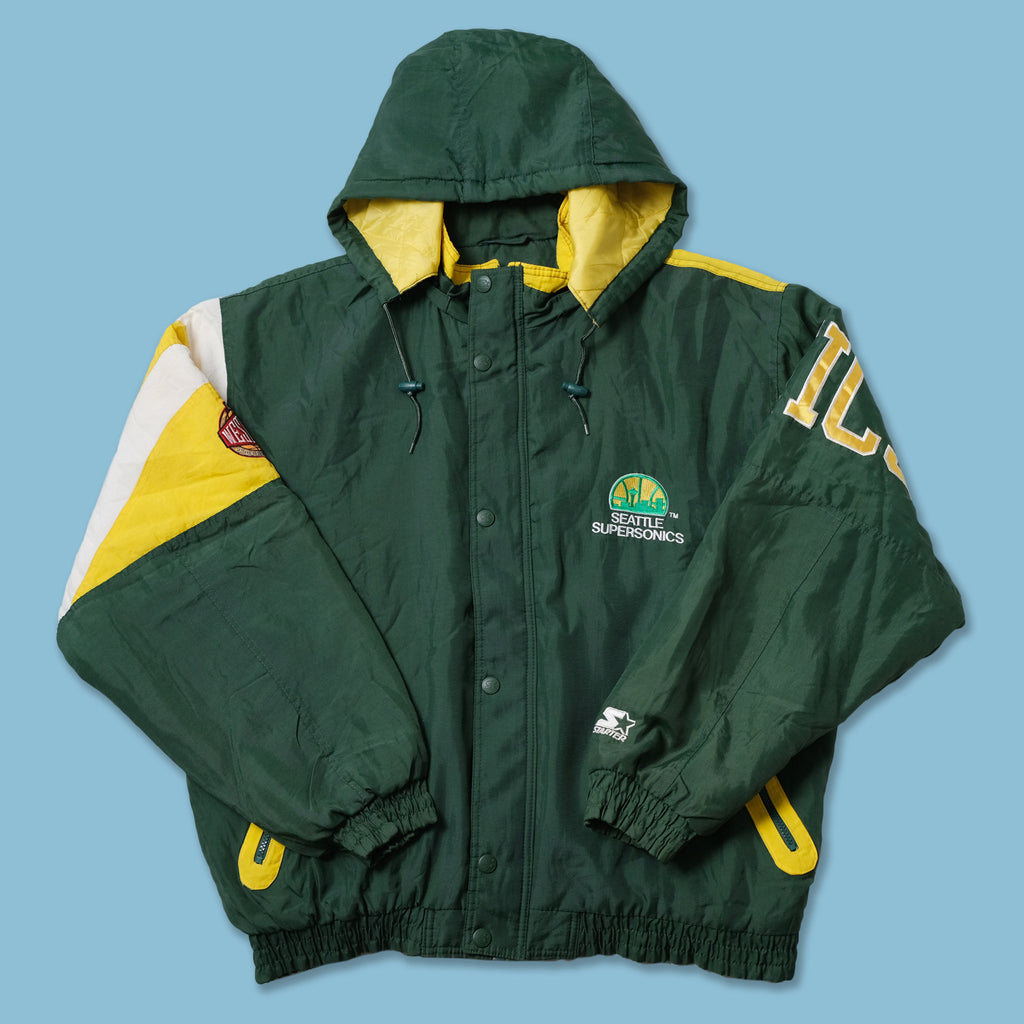 Vintage Starter Seattle Supersonics Jacket XLarge