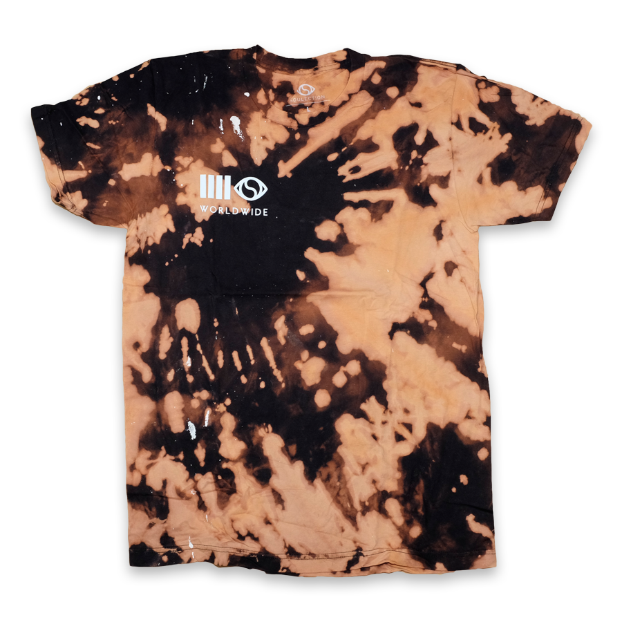 Soulection Worldwide T-Shirt Bleach Large