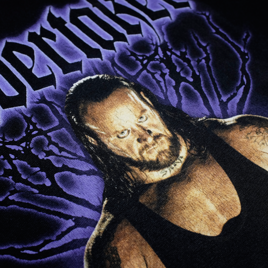 Vintage Undertaker Wrestling T-Shirt Black/Purple