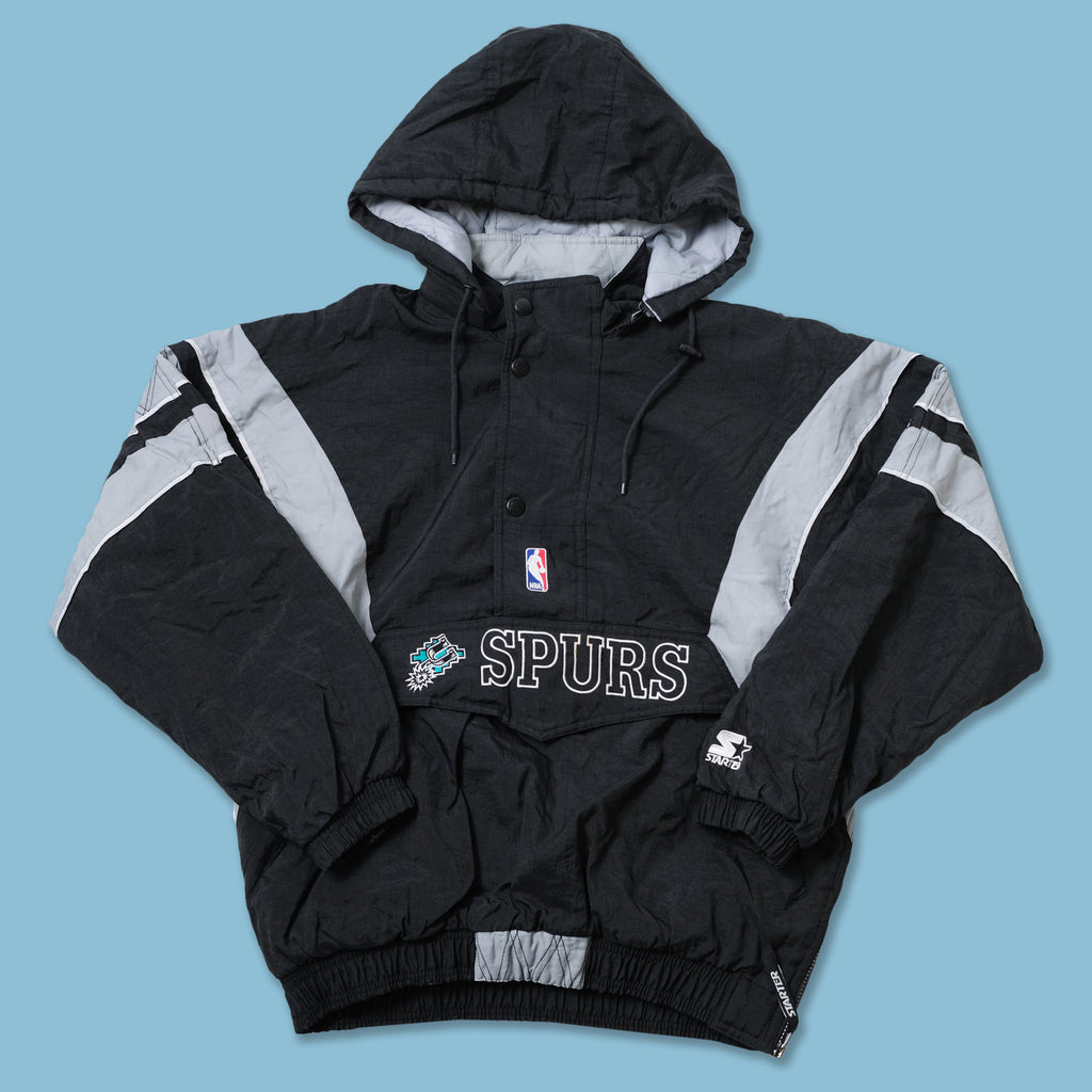 Vintage Starter San Antonio Spurs Anorak Medium / Large