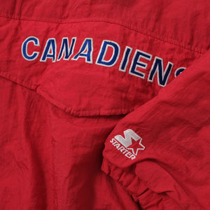 Vintage Starter Montreal Canadiens Anorak Medium