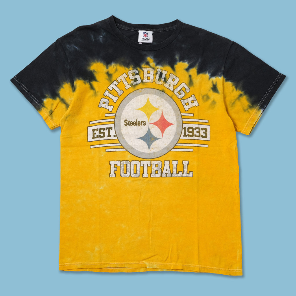 Vintage Pittsburgh Steelers Tie Dye T-Shirt Small / Medium