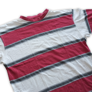 Vintage Stripe Tee Medium - Double Double Vintage