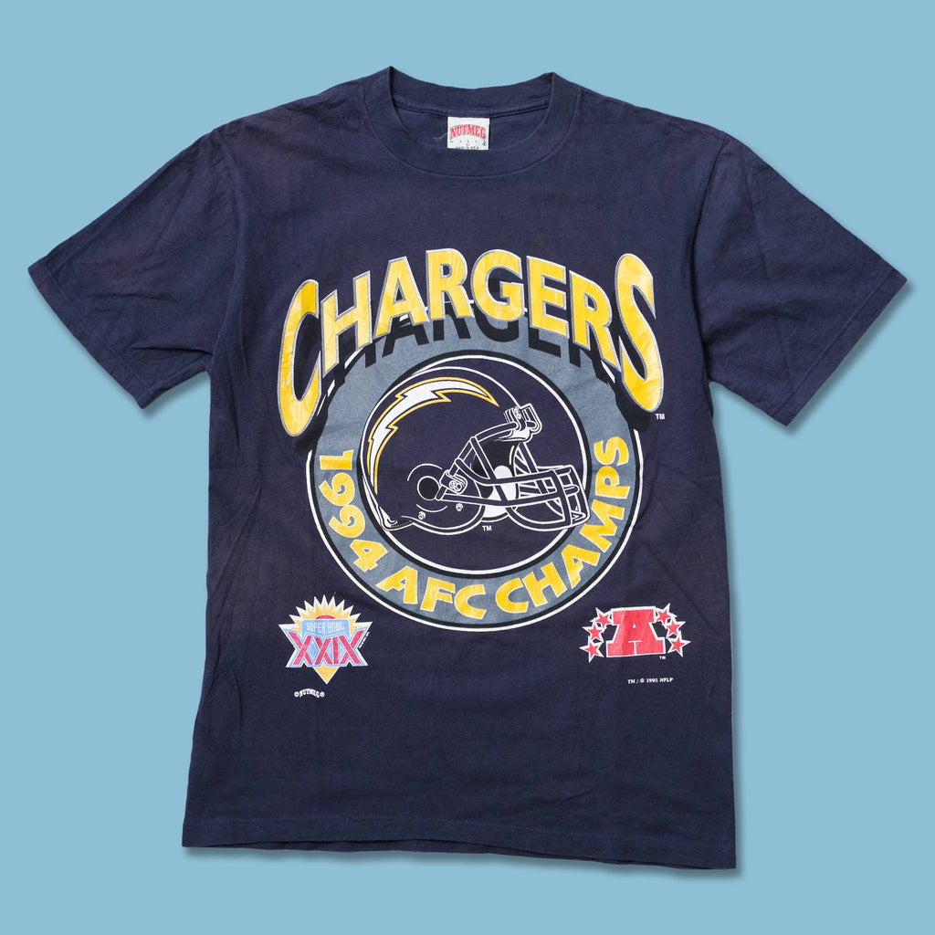 Vintage 1995 San Diego Chargers T-Shirt Medium