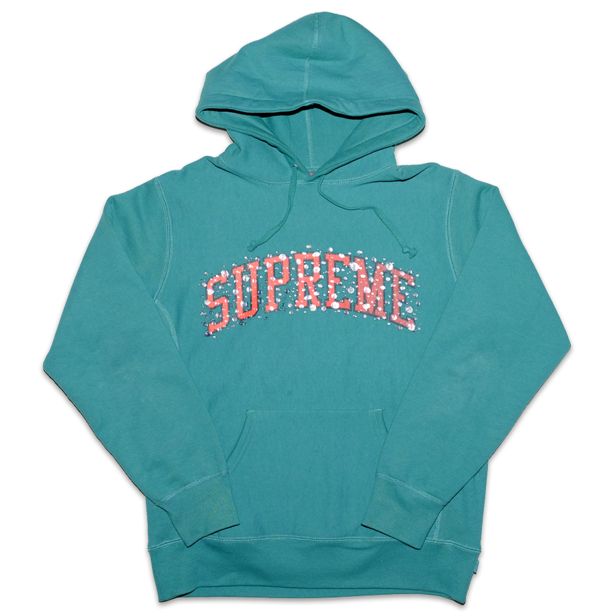 Supreme Bubble Logo Hoody