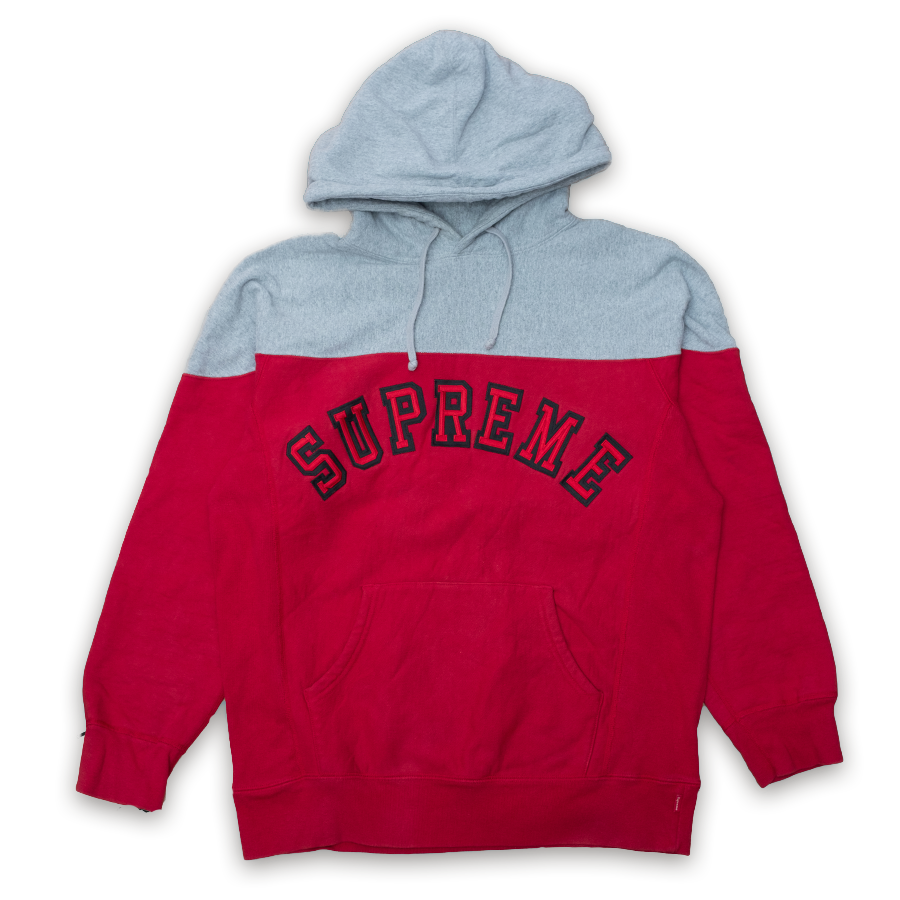 Supreme 2-Tone Arc Hoody (FW 13) Large