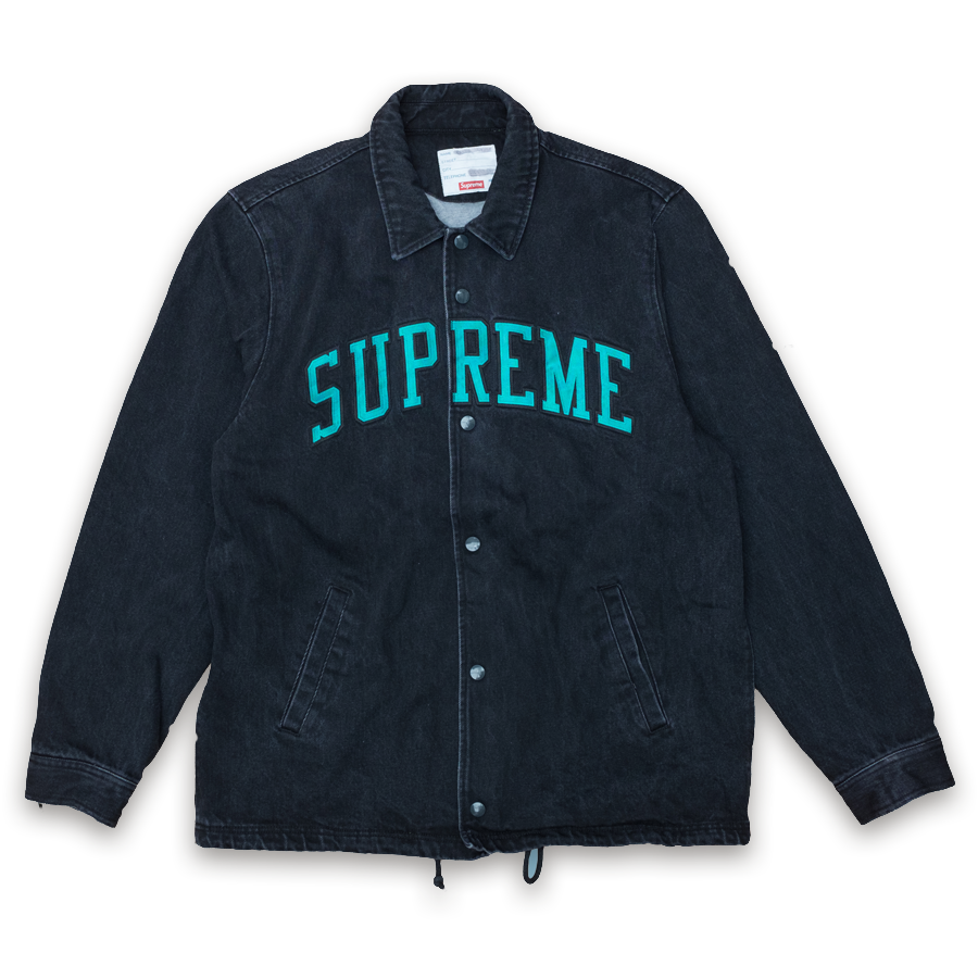 Supreme Denim Coaches Jacket Large