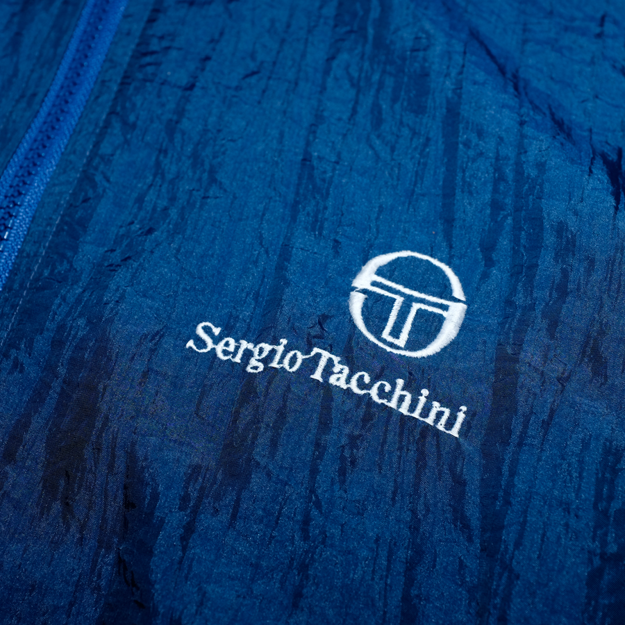 Vintage Sergio Tacchini Light Jacket / Great Quality and Details made in Italy