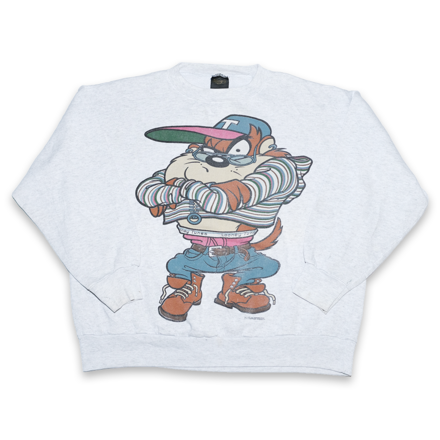 Vintage Taz Looney Tunes Sweater Medium