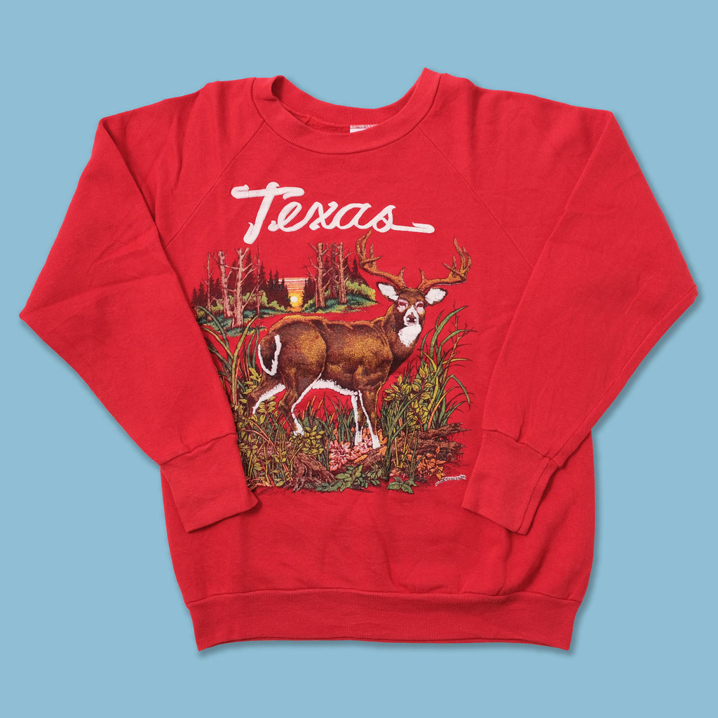 Vintage Deer Texas Sweater Medium