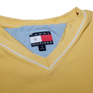 Vintage Tommy Hilfiger Cropped T-Shirt Small / Medium