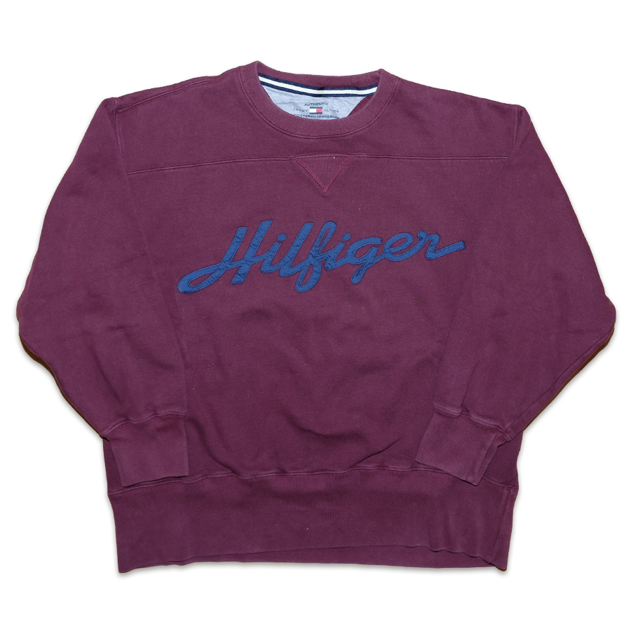 Tommy Hilfiger Sweater Medium - Double Double Vintage