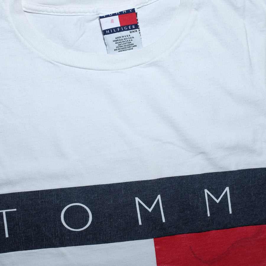 Vintage Tommy Hilfiger Flag T-Shirt Large