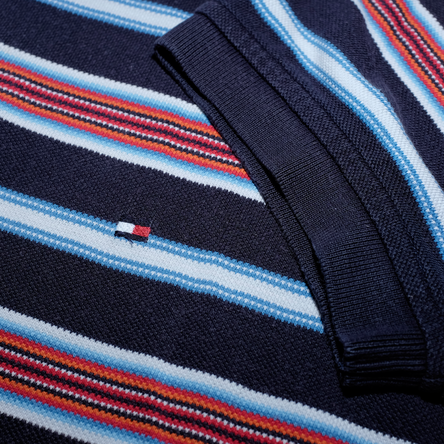 Tommy Hilfiger Striped Poloshirt Multicolor