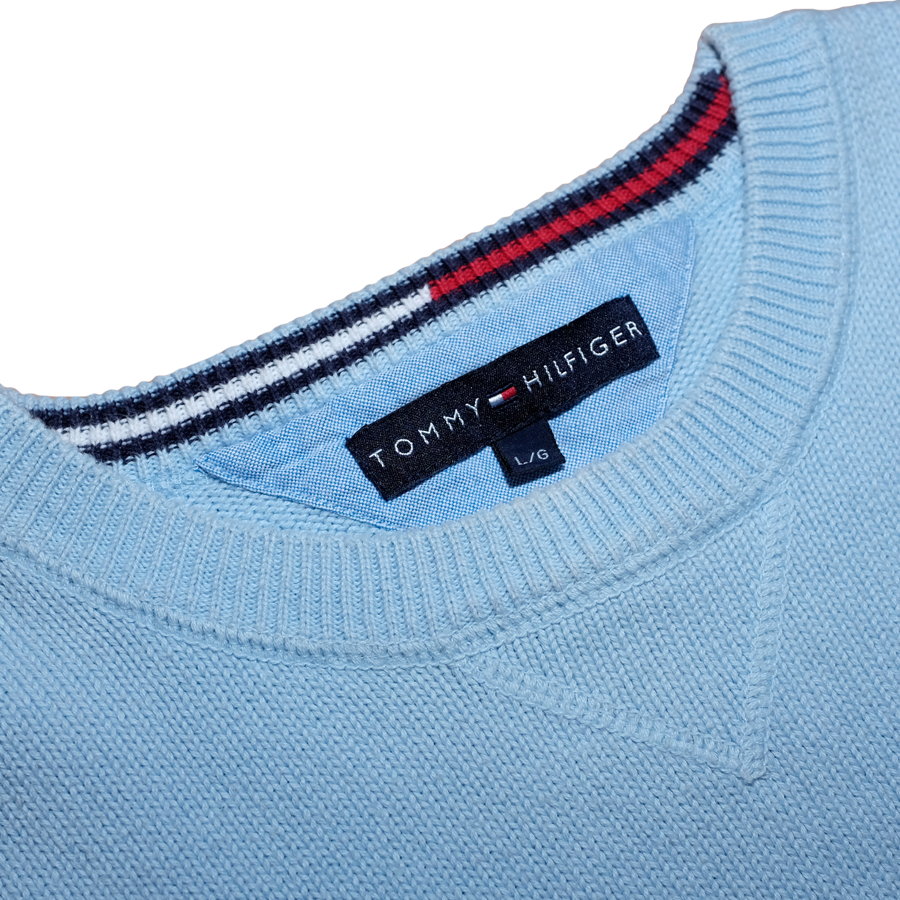 Blue Tommy Hilfiger Sweatshirt