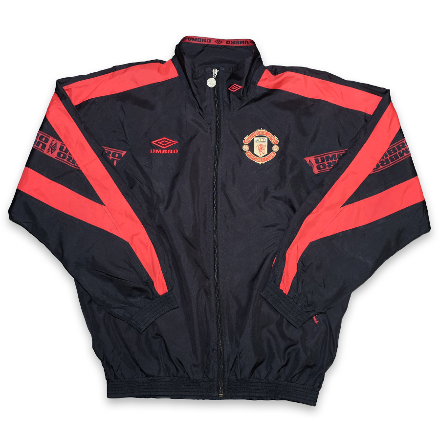 Vintage Umbro Manchester United Track Jacket Medium