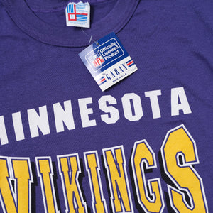 Vintage Deadstock Minnesota Vikings T-Shirt Large