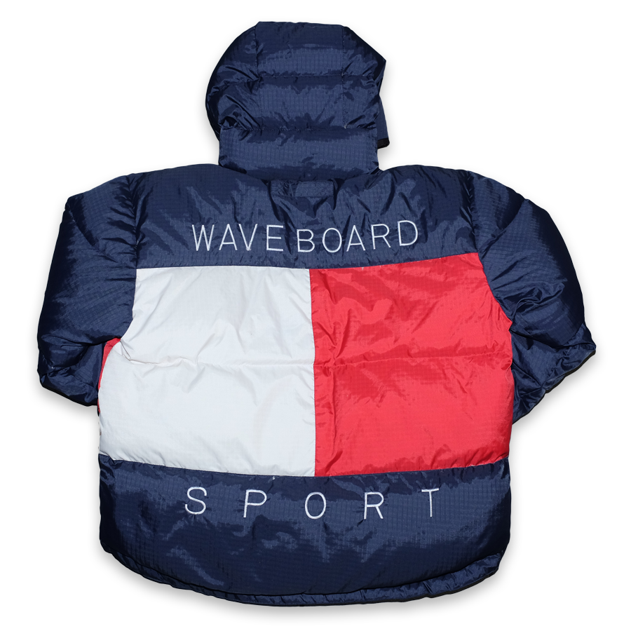 Wave Board Sport Down Puffer Jacket Large / XLarge