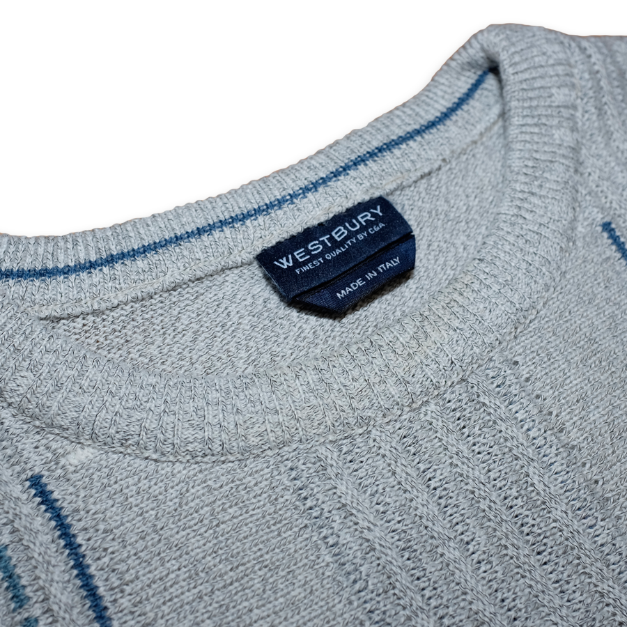 Vintage Westbury Sweatshirt Grey / Nice Quality made in Italy