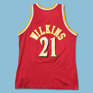 Vintage Champion Dominique Wilkins Jersey Large / XLarge