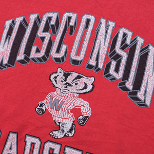 Vintage Wisconsin Badgers Sweater Medium
