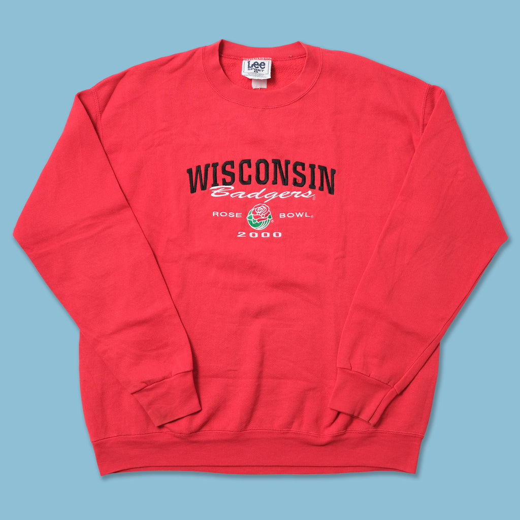 Vintage Puma Wisconsin Badgers Rose Bowl Sweater XLarge / XXL