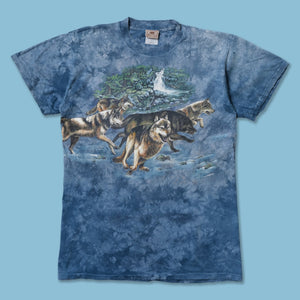 Vintage Wolf All Over Print T-Shirt Large / XLarge