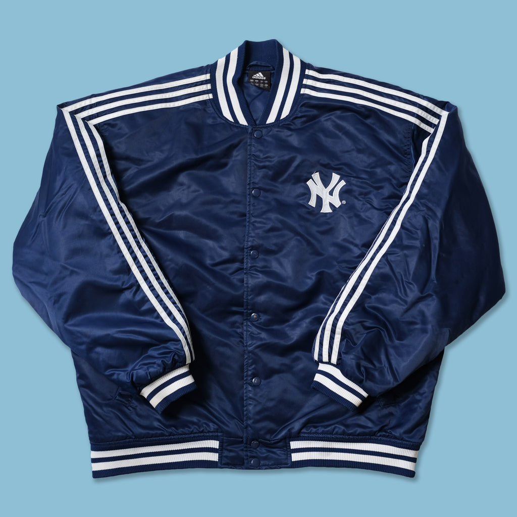 Vintage adidas New York Yankees Bomber Jacket Large / XLarge