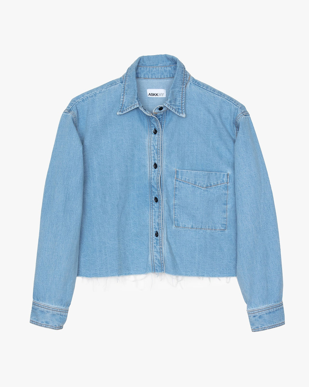 DENIM SHIRT- vintage wash