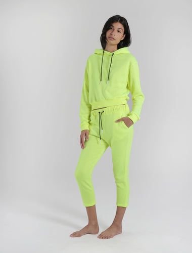 SWEATPANT - neon yellow