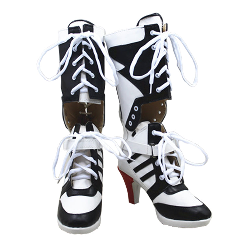 Harley Quinn Cosplay Boots Shoes Joker Costume High Heel Boots  sc 1 st  Cosplay Infinity & Harley Quinn Cosplay Boots Shoes Joker Costume High Heel Boots ...