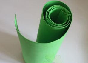 1.5mm Light Green Eva foam sheets 50cm x 2m, 19in x 78in