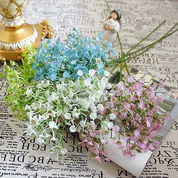1 Bundle 180  pcs Artificial Silk Sky Stars Flowers