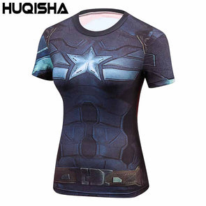 Star Wars Cool Avengers Superhero Superman Captain America Casual T Shirt Women - Cosplay Infinity
