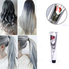 Fashion Light Gray Color Natural Permanent Super Hair Dye - Cosplay Infinity
