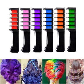 1Pcs Mini Disposable Personal Salon Use Temporary Hair Dye Comb P - Cosplay Infinity