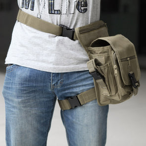 Waterproof Military Utility Thigh Pouch Waist Belt Leg Bag - Cosplay Infinity