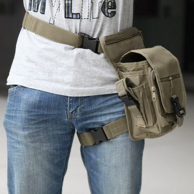 Waterproof Tactical Military Utility Thigh Pouch Waist Belt Leg Bag - Cosplay Infinity