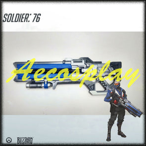 OW Game Hero Soldier 76 Prop Halloween Cosplay Costume - Cosplay Infinity