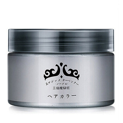 Grandma Gray Hair Wax 120g Does Not Hair Hurt Silver Gray One-Time Hair Dye Grey Hair Color Cream - Cosplay Infinity