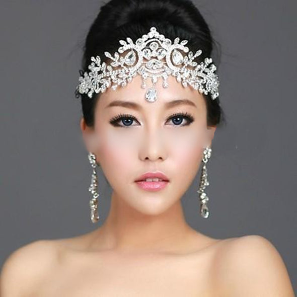 Bridal Hairbands Crystal Headbands Women Hair Jewelry - Cosplay Infinity