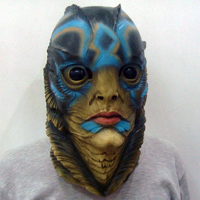 The Shape of Water Mask Funny Cosplay Movie Merman Fish Face - Cosplay Infinity