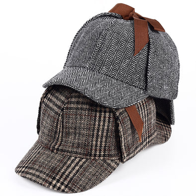 VORON Brand Sherlock Holmes Detective Hat Unisex Cosplay Costume - Cosplay Infinity