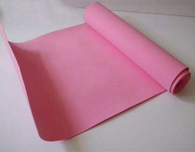 2mm Pink Eva foam sheet cosplay children school Size 50cm*200cm. 19in x 78in